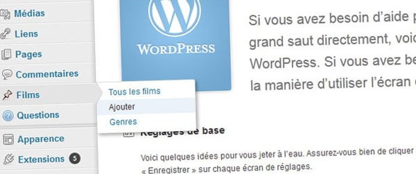 Mécanisme des Custom Post Types WordPress, usages et limites